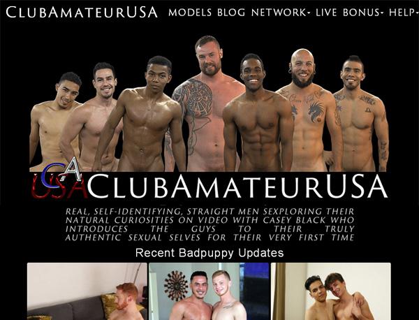 Club Amateur USA Log In