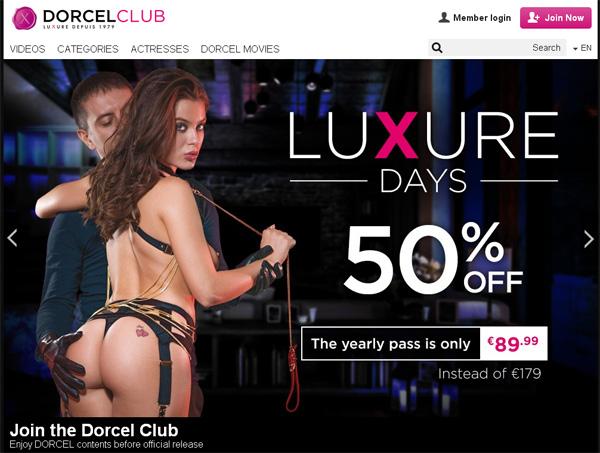 Dorcelclub Password