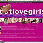 Foot Love Girls Account Passwords
