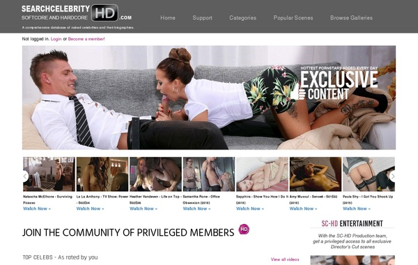 Get Free Searchcelebrityhd Account