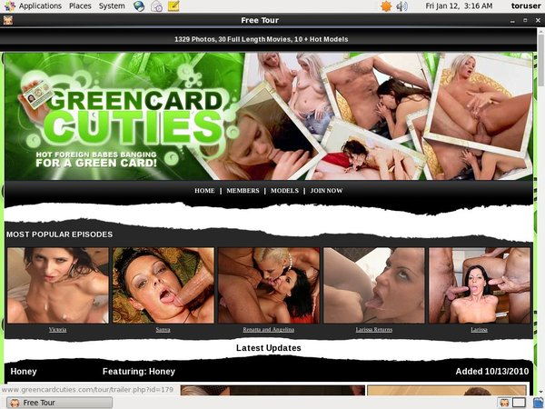 Green Card Cuties Pictures
