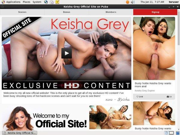 Keishaxxx.com Free Trial