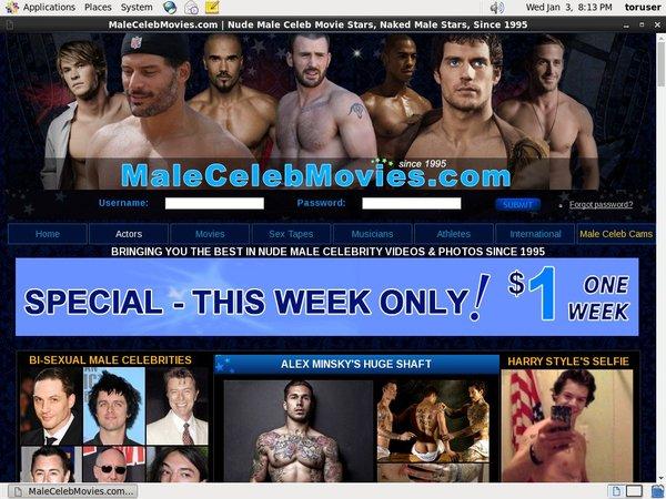 Male Celeb Movies Ebony