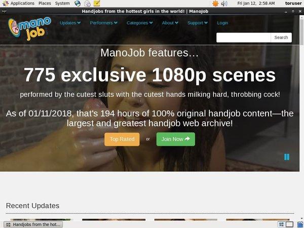 Manojob.com Account Information