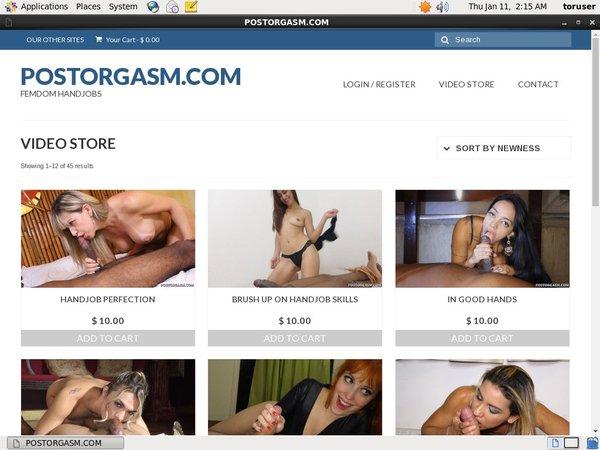 Post Orgasm Free Member