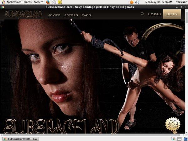 Subspaceland.com Image