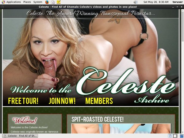 TS Celeste Porn Accounts
