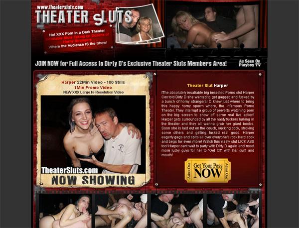 Theatersluts.com Lower Price