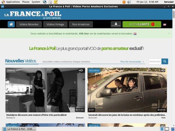 Lafranceapoil.net Free Tour
