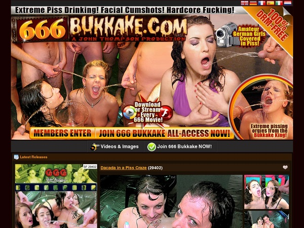 666 Bukkake 사용자 이름