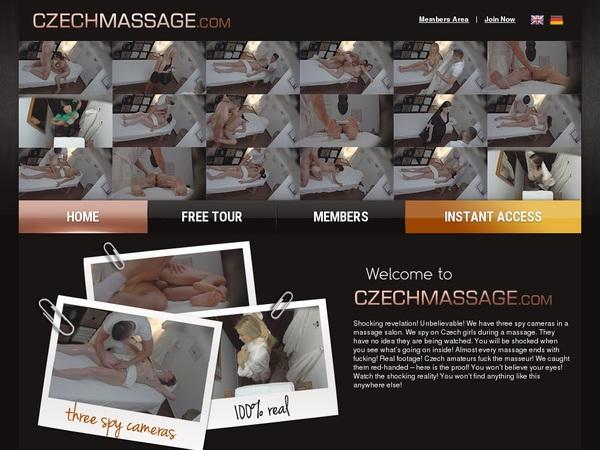 Czechmassage Free Users