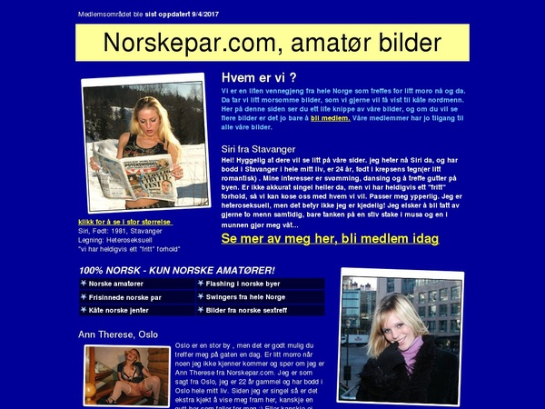 Norskepar.com Accounts Daily