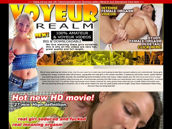 Voyeurrealm.com Free Acc