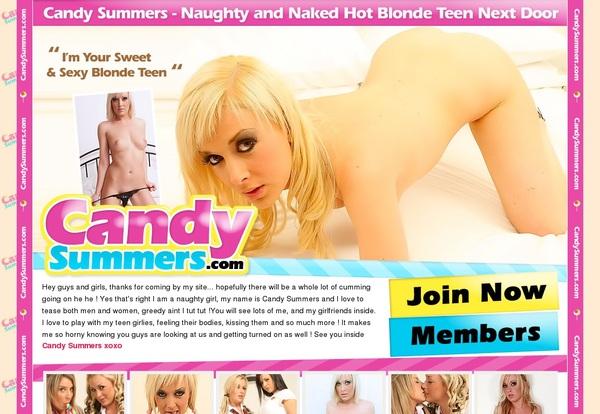 Candysummers Network Password