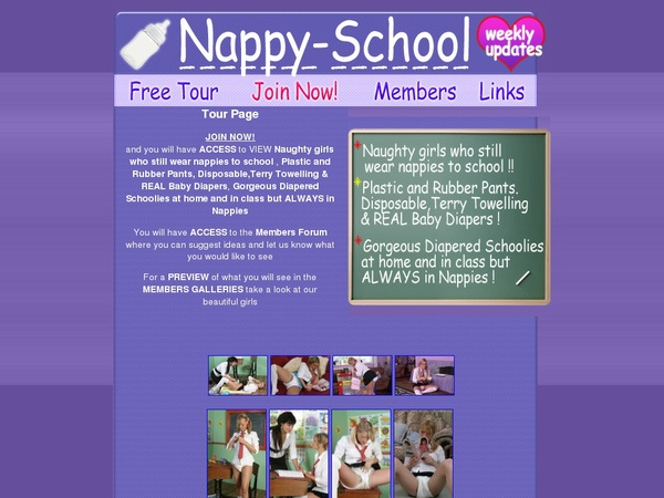 Nappyschool Join Page