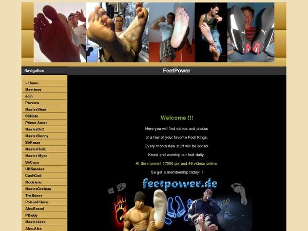 Feetpowerpasswords