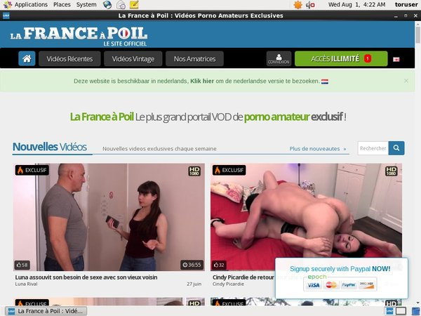 Lafranceapoil.net Free Tube