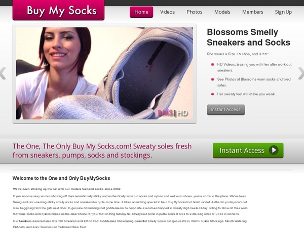Buy My Socks Free Tour