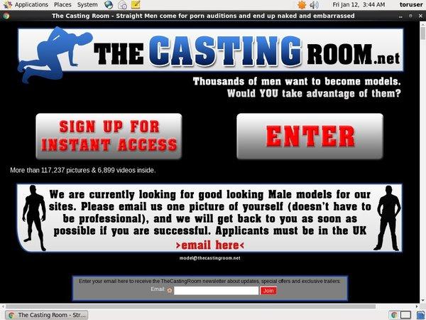 Thecastingroom.net Premium Passwords