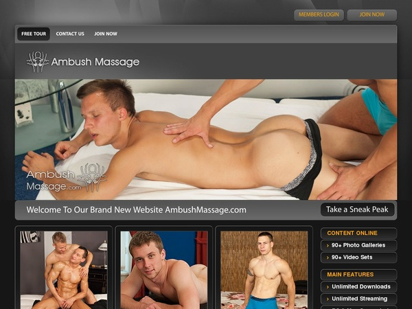 Ambushmassage.com Get An Account