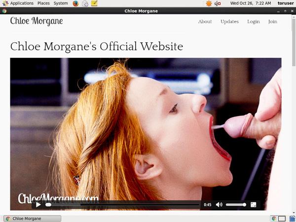 Chloe Morgane Accounts And Passwords