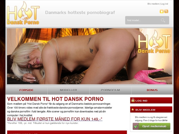 Hotdanskporno Account And Password