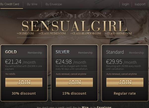 Sensualgirl Customer Support