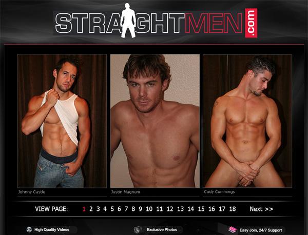 Straight Men Create Account