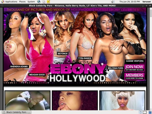 Ebonyhollywood.com Free Member