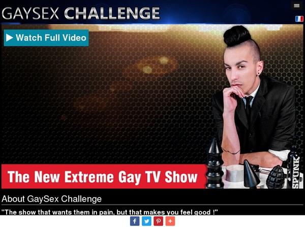 Gaysexchallenge.com Free Accounts